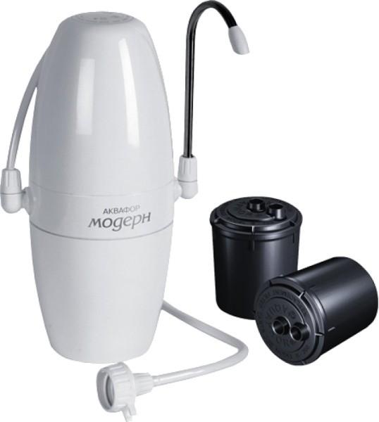 Bộ lọc nước tại quầy Aquaphor Modern