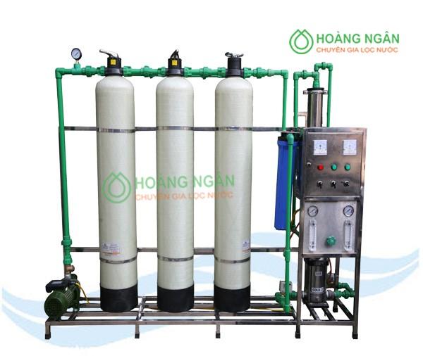 Dây chuyền lọc nước tinh khiết RO 200 lít/h
