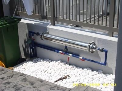 Hệ thống nước tổng toà nhà Biệt Thự
