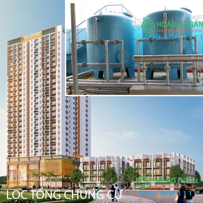 Hệ thống xử lý nước lọc thô lọc tổng cho tòa nhà, chung cư