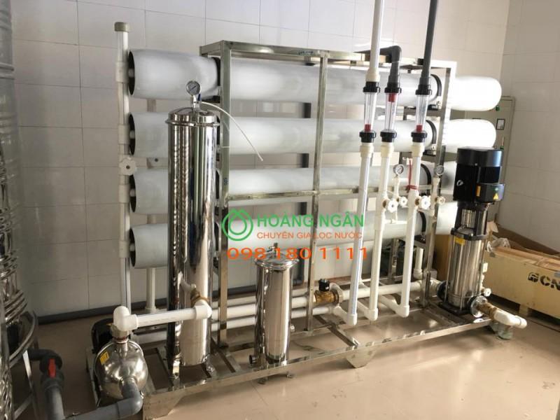 Lọc nước RO tinh khiết cho ngành sản xuất thực phẩm đồ uống