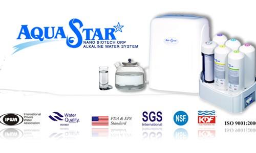 Máy lọc nước Aquastar AS8000 nhập khẩu Malaysia