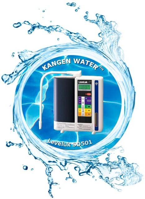 Máy lọc nước điện giải Kangen Leveluk SD501 Platinum