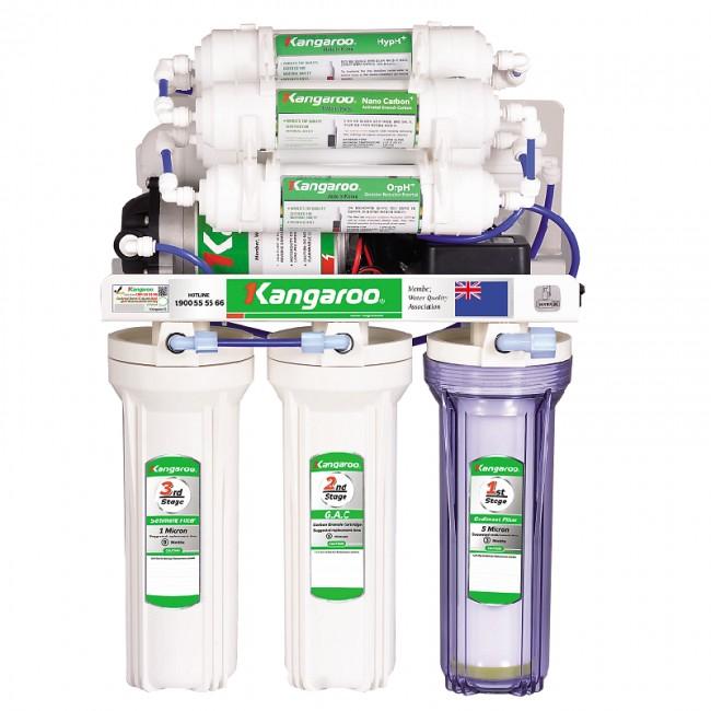 Máy lọc nước Hydrogen Kangaroo KG100HQ không tủ