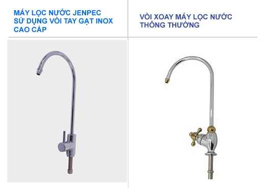 Máy lọc nước Jenpec Canxi Water - Lọc nước nhiễm đá vôi