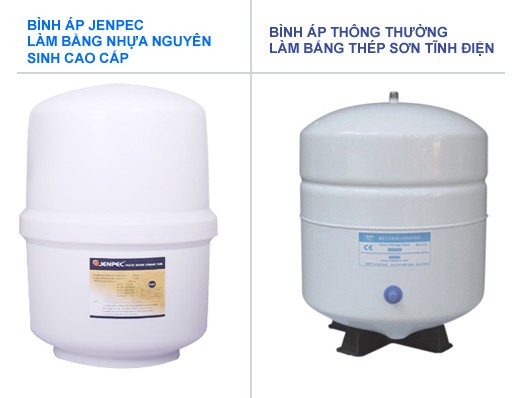 Máy lọc nước Jenpec Mix 8000 tủ 3D