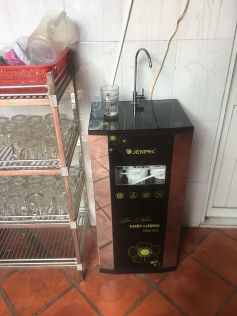 Máy lọc nước Jenpec Mix 8000 tủ đen