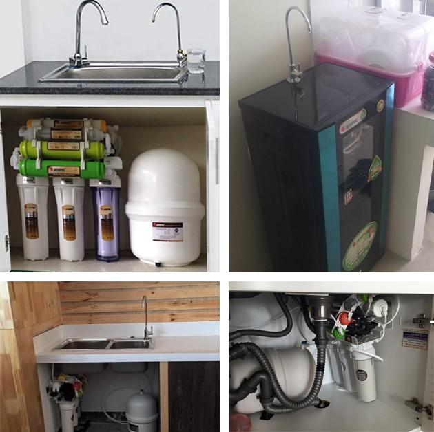 Máy lọc nước Jenpec MIX-9000 UV diệt khuẩn Không vỏ