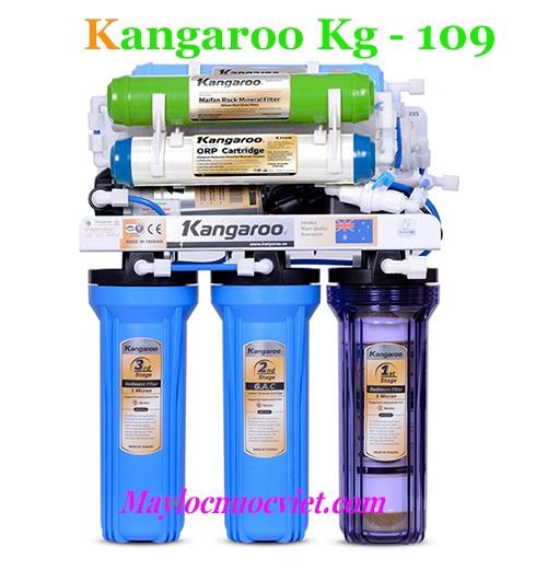 Máy lọc nước kangaroo 9 lõi lọc KG109 không vỏ tủ