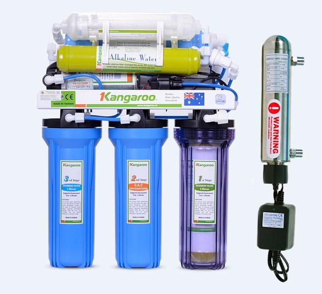 Máy lọc nước Kangaroo KG 104 UV không vỏ tủ