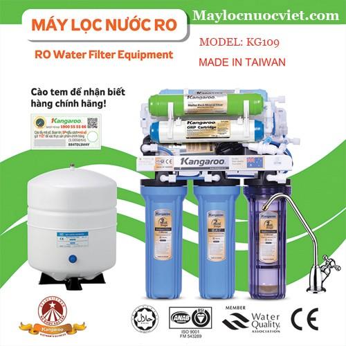 Máy lọc nước Kangaroo KG109 tủ VTU