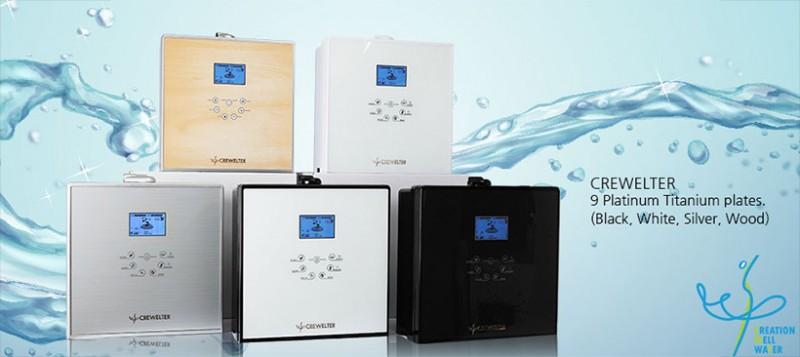 Máy lọc nước kiềm điện giải Crewelter 9 (Full option )