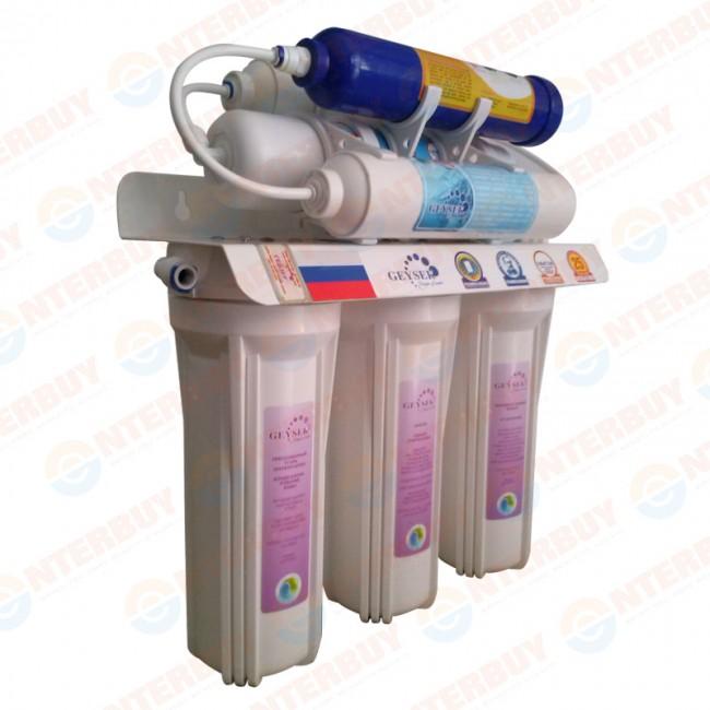 Máy lọc nước Nano Geyser TK7 với 7 lõi lọc nước