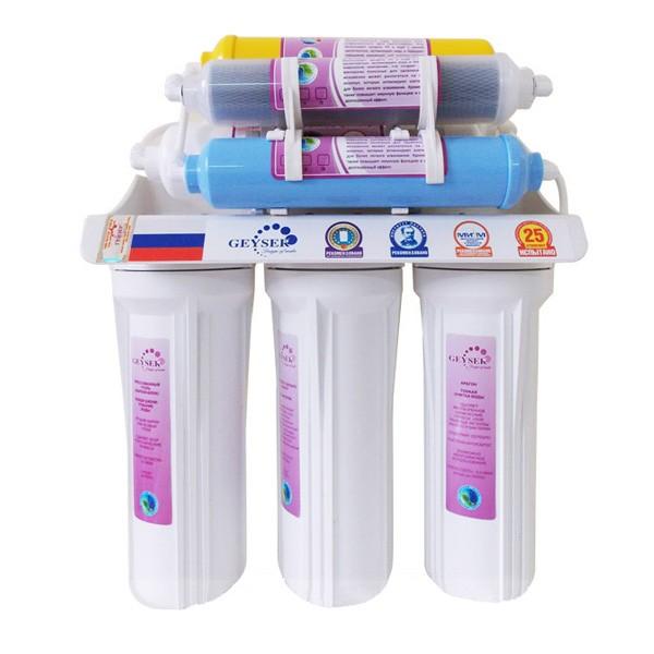 Máy lọc nước Nano Geyser TK8 với 8 cấp lọc
