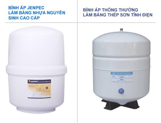 Máy lọc nước RO-Nano Jenpec Mix 9000 Plus công nghệ kép