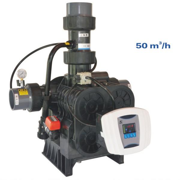 Van tự động Autovalve F96A1 ( 50 m³/h Tái sinh theo thời gian )